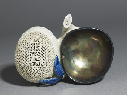 Water pot in the form of a lychee spray