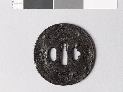 Tsuba with star forms