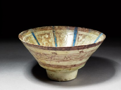 Bowl with lustre decoration