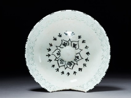 Bowl with pierced decoration