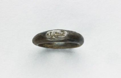Seal ring with kufic inscription