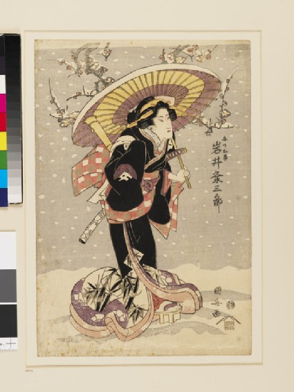 Iwai Kumesaburō as An no Ohei