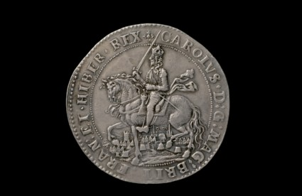 Early Modern English coin (The Oxford Crown)