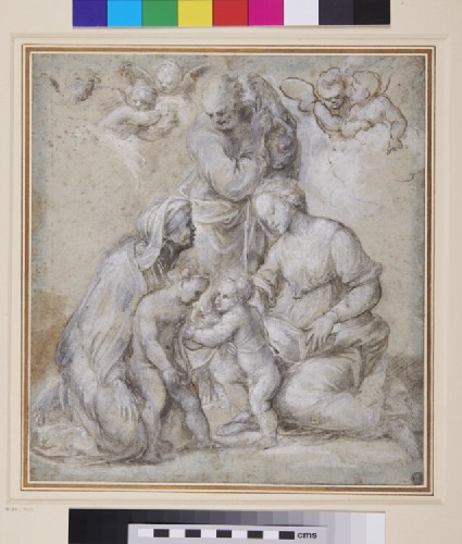 The Madonna Canigiani, after Raphael