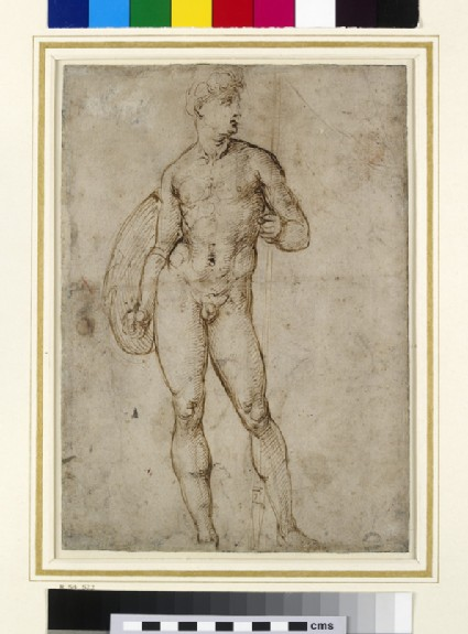 Recto: A Youthful Warrior Verso: Nude Study for a St Paul