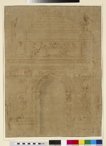 Design for a Medici tomb