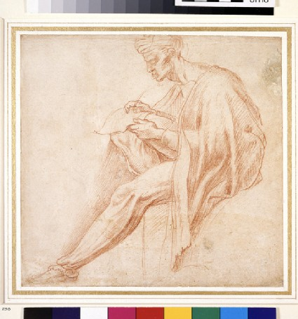 Study for the Lunette of Asa, Josaphat, and Joram