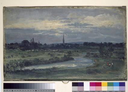 View from Pugin's House near Salisbury
