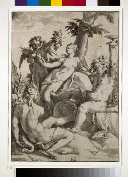 Ceres, Venus and Bacchus