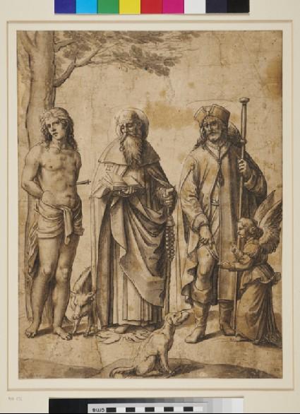 Saint Sebastian, Saint Anthony and Saint Roche