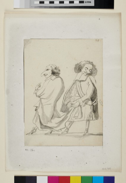 Two Caricatures