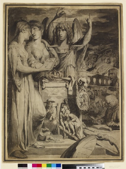 Allegory of the Union of Britain and Ireland