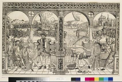 The history of Elector Friedrich I Palatine