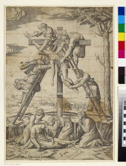 Christ descending from the Cross