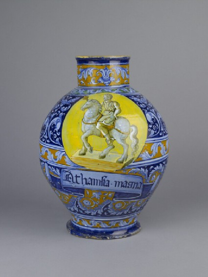 Pharmacy jar for Athanasia magna