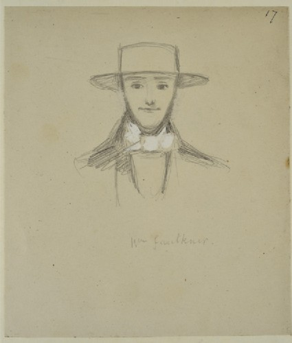 Portrait of Mr Faulkner