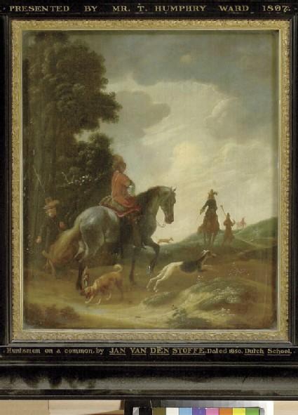 Huntsmen in a Landscape