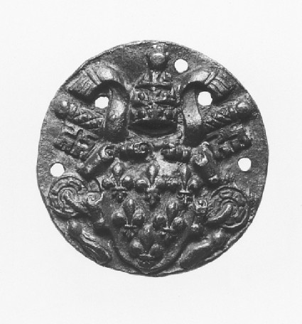 Badge with the Arms of Pope Paul III