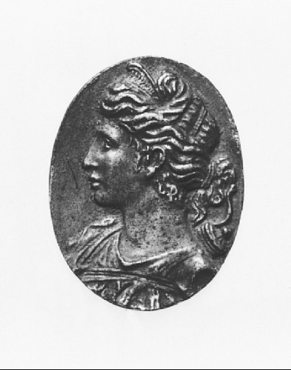Portrait bust of Diana