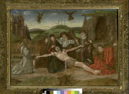 The Lamentation with a Benedictine Donor