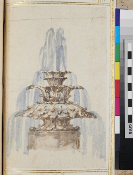 Design for an ornamental fountain