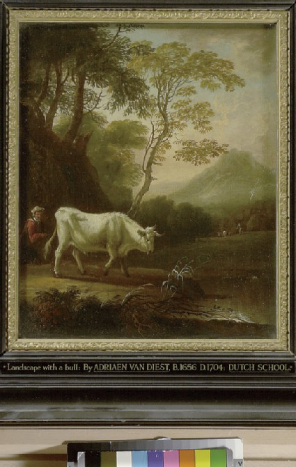 Landscape with a Bull