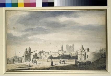 View of Nantes