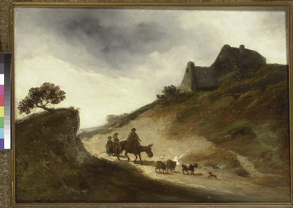 Landscape with Goatherds