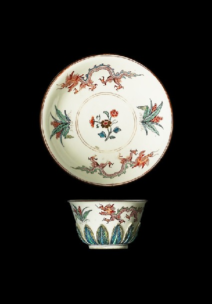 Tea bowl and saucer