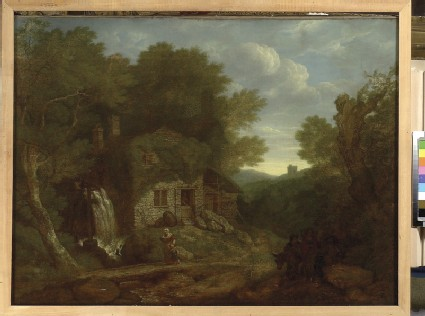 Landscape: Houses at the Edge of a Wood