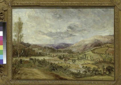Landscape with a River Valley
