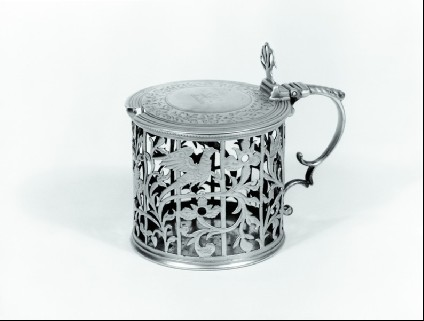 Mustard Pot and spoon