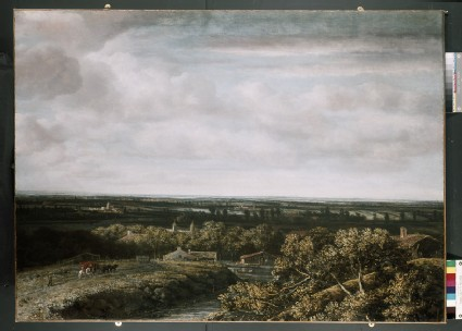 A View over flat Country