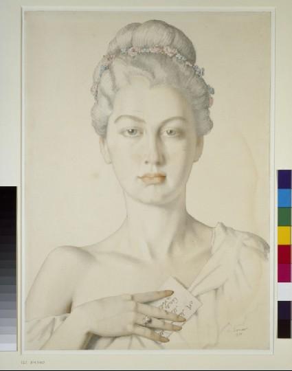 Imaginary Portrait of Cécile de Volanges in Choderlos de Laclos's 'Les Liaisons dangereuses'