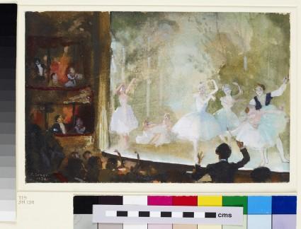 Russian Ballet, Champs-Elysées: Les Sylphides