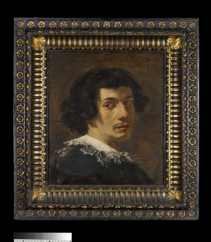 Portrait of a young man, possibly a self-portrait