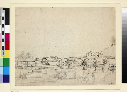 Recto: View of La Guaira
