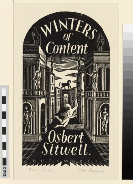 Winters of Content: design for dust jacket