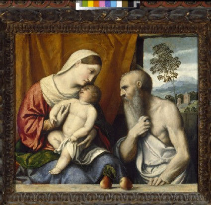 The Virgin and Child with St Jerome
