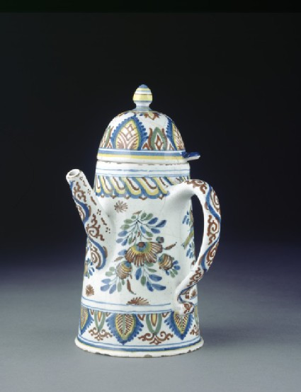 Coffee pot with cover