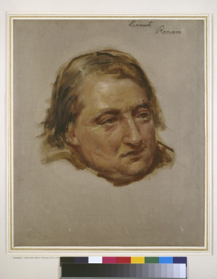 Study for the Portrait of Ernest Renan