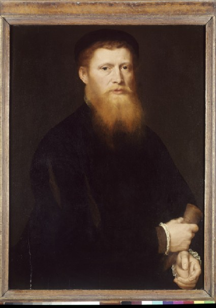 Half-length Portrait of a bearded Man