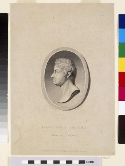 Portrait of Francis Douce, after Mrs Dawson Turner