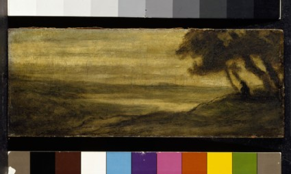 Landscape with a reclining Figure