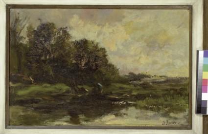 Stormy Landscape, Autumn