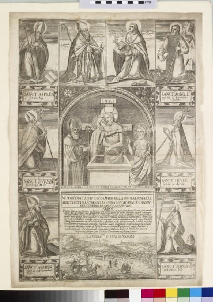 Vero ritratto di Santa Maria della Cosolatione