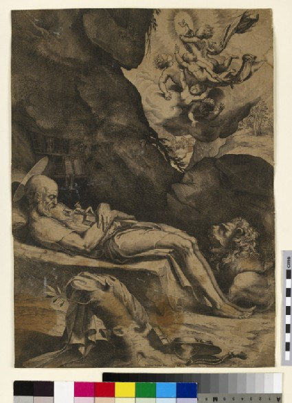 Death of St Jerome