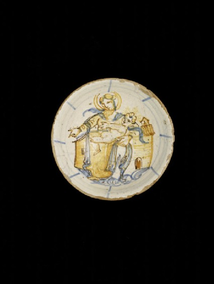 Drinking bowl, the Madonna of Loreto