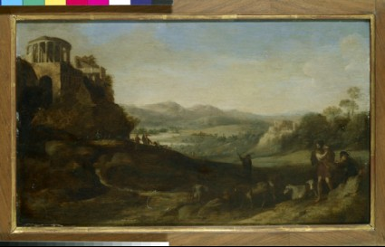 Shepherds in the Campagna