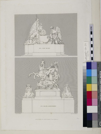 Monuments to Lieutenant-General Sir John Moore and Sir Ralph Abercromby